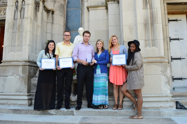 SMU Circle K members with four international awards!