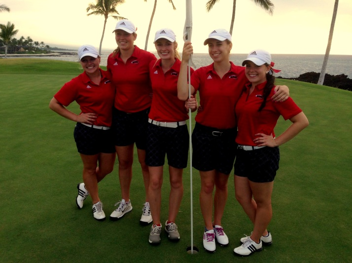 Women's Golf in Hawaii!